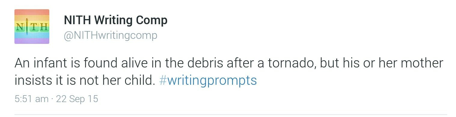 Writing Prompt Tornado